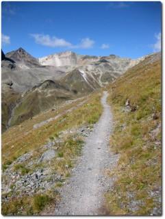 Panoramatrail zwischen Murezzan und Suvretta Pass