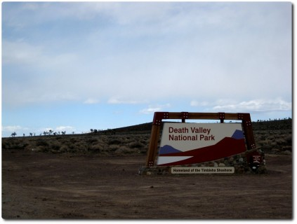 Eingang zum Dead Valley NP