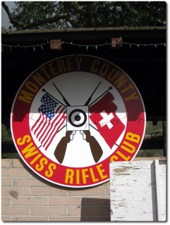Emblem Monterey County Swiss Rifle Club