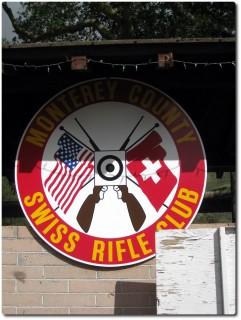 Emblem Monterey County Swiss Rifle Club