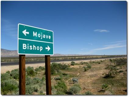 Durch die Mojave Wüste...