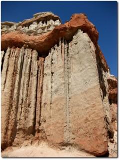Felsformationen im Red Rock Canyon - CA