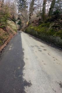 Sandsteinweg bei Talhöchi