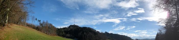 Panorama auf der Talhöchi