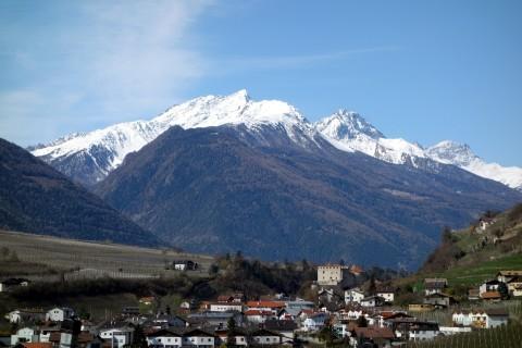 Blick zurück ins Vinschgau