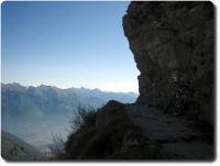 Singeltrails auf dem Monte Tamarao