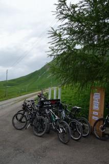 Grosse Bikegruppe