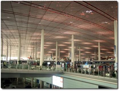 Beijing Terminal 3 - Abflughalle