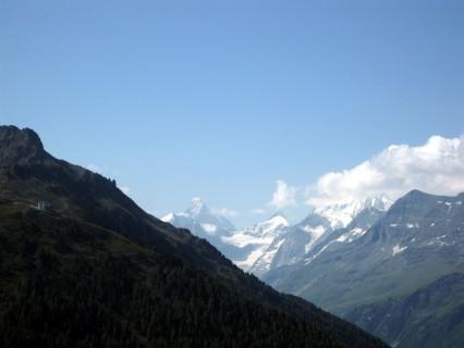 Tignousa - Blick zum Matterhorn
