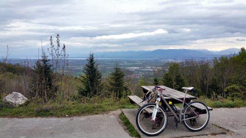 Aussicht nach Genf bei Tiocan
