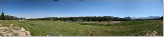 Tolumne Meadows Panorama