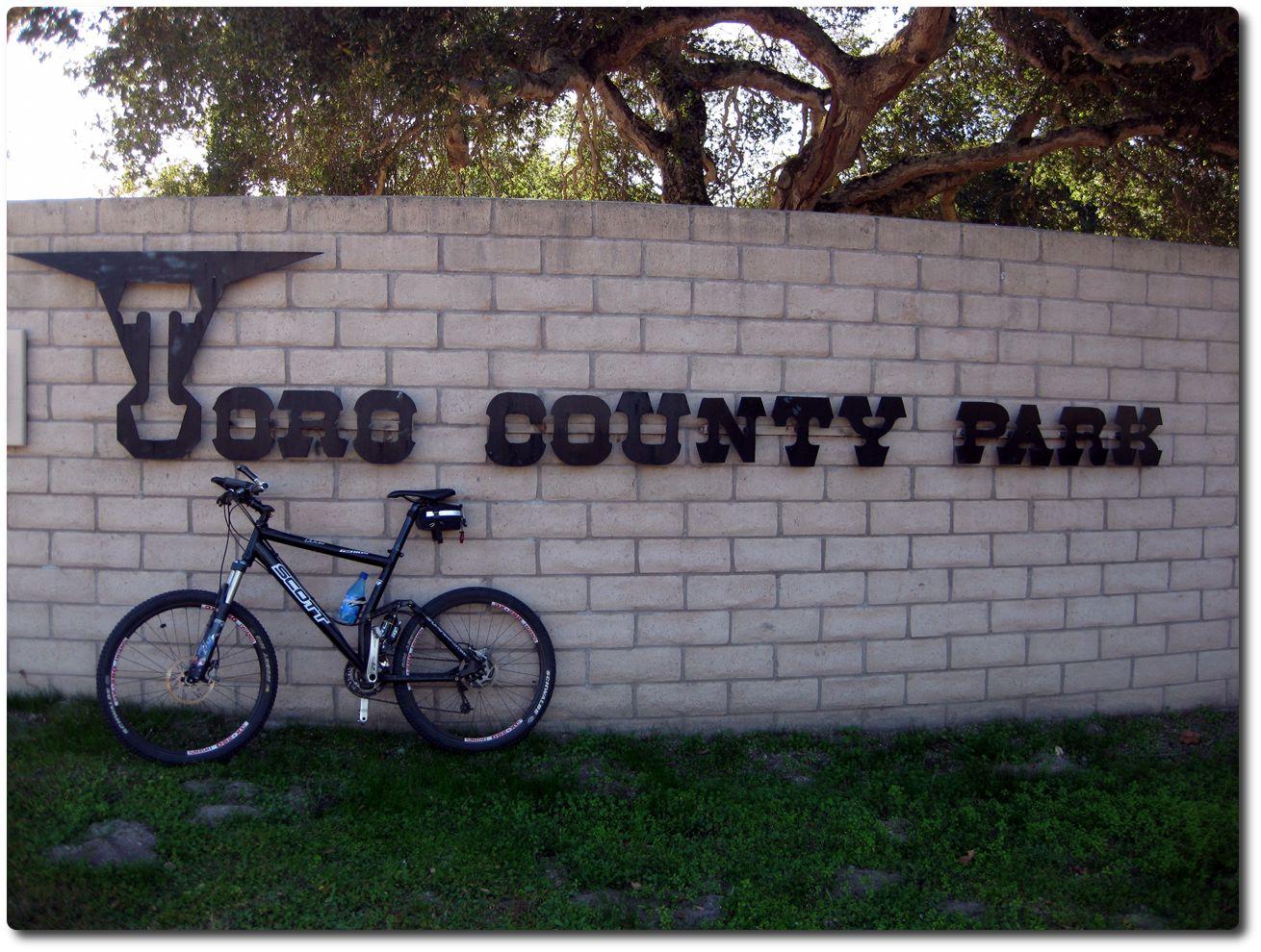 Toro County Park Eingang