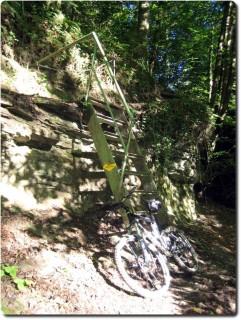 Mützbachtäli Treppe