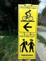 Trailtoleranz und Markings in Finale Ligure