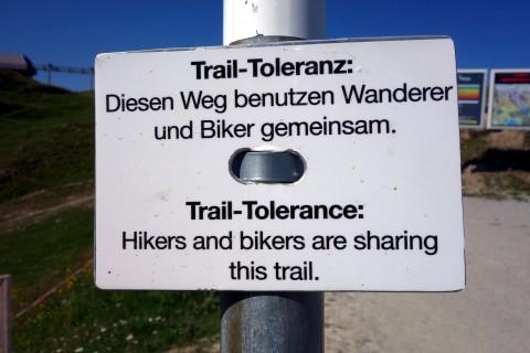 Trailtoleranz - Graubünden rockt!
