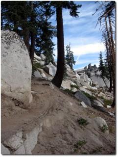 Tahoe Rim Trail - Schöner Weg und viel Fahrspass