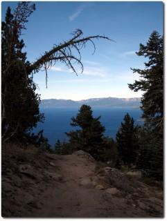 Tahoe Rim Trail - Weite Tiefblicke