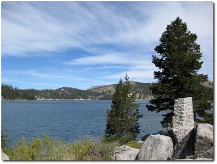 Tahoe Rim Trail - Pause am Marlette Lake