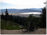 Tahoe Rim Trail - Blick auf Nevada