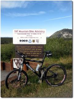 Tahoe Rim Trail - Es geht los !