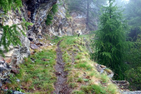Trail durch das Tschongtobel