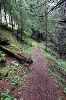 Trail durchs Turtmanntal