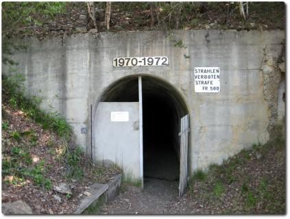 Eingang Stollen Ausserberg
