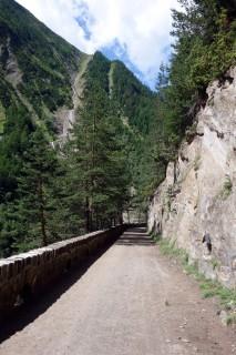 Historische Strasse durch die Twingischlucht