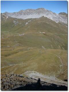 Trail auf Schweizer Seite runter zum Umbrail Pass
