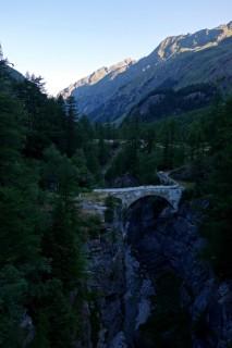 Alte Brücke bei La Vacheresse