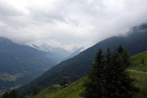 Back im Val d'Anniviers