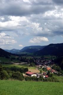 Blick ins Val de Travers