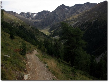 Trailspass runter ins Valle delle Mine