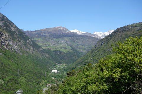 Blick ins Valtournenche