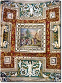 Vatikanische Museen - Deckenmalerei