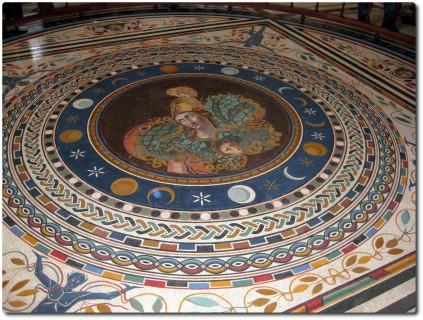 Vatikanische Museen - Mosaik