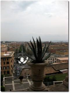 Vatikanische Museen - Aussicht nach Osten