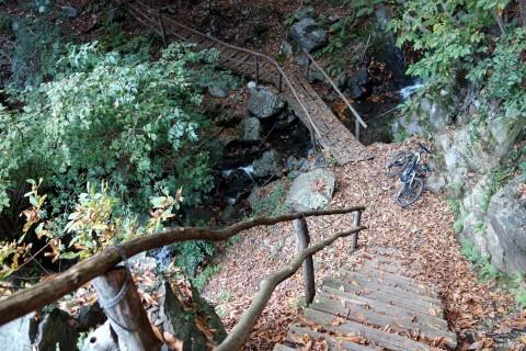 Treppen durchs Valle di Crodolo