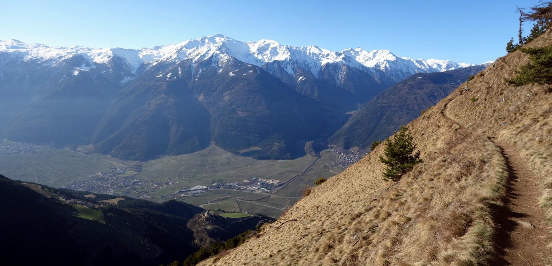 Panorama Vinschgauer Höhenweg