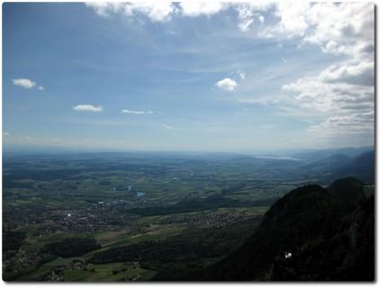 Balmfluechöpfli - Blick nach Westen zum Bielersee