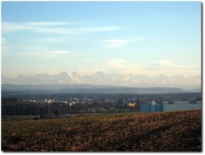 Alpenpanorama zum Zweiten