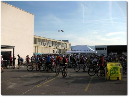 4. Stöckli Buechibärg Bike Marathon - Vor dem Start