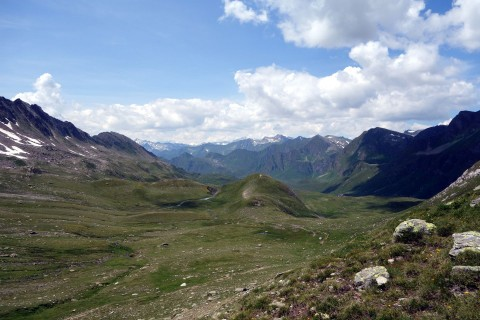 Und runter gehts - Passo del Sole