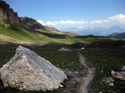 Fahrbare Passage hinüber zum Col de Cou
