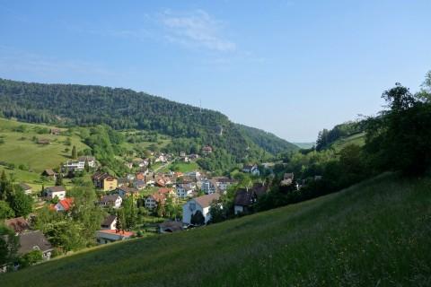 Blick nach Waldenburg
