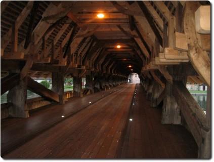 Alte Holzbrücke Wangen an der Aare