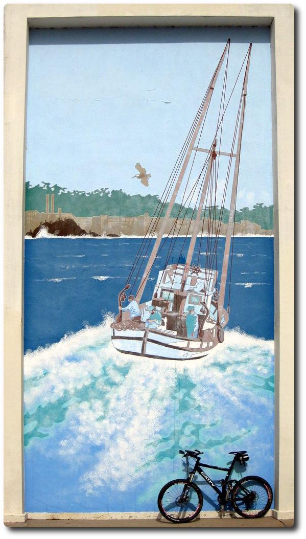 Wandbild Monterey Fishermans Wharf