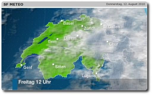 Wetteraussichten Freitag