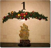 Weihnachtsdekoration im Hotel in Beijing