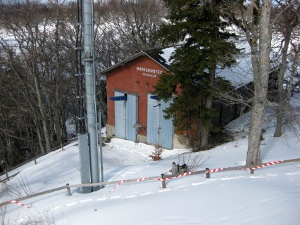 Bergstation Sesselbahn Weissenstein